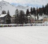 Rekordbeteiligung beim Snowrun in Arosa?