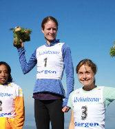 Andrea Mayr und Geoffrey Ndungu Berglauf-Worldcup-Sieger 2018