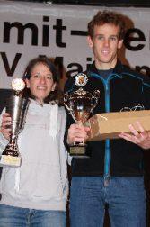 Jonas Lehmann und Simone Raatz beim Finale und beim Pfälzer Berglauf-Pokal vorne