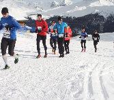 Deutscher Doppelsieg beim Snow Run in Arosa