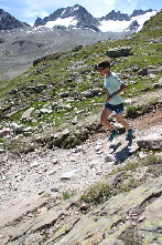 Andrea Huser schneller als alle Männer