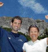 Patrick Wieser und Jasmin Nunige überlegende Sieger beim LGT-Marathon
