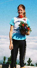 Jonathan Wyatt und Iva Milesova Berglauf-Grand-Prix-Sieger