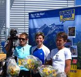 Martin Cox gelingt Hattrick beim Glacier 3000 Run