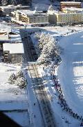 Gute Resonanz beim Swiss Snow Run in Arosa
