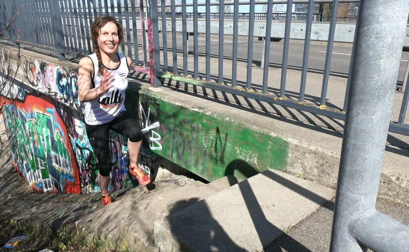 Verena Schmitz, Erste DM Towerrunning 2020