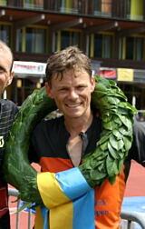 Benedikt Hoffmann gewinnt Swissalpine